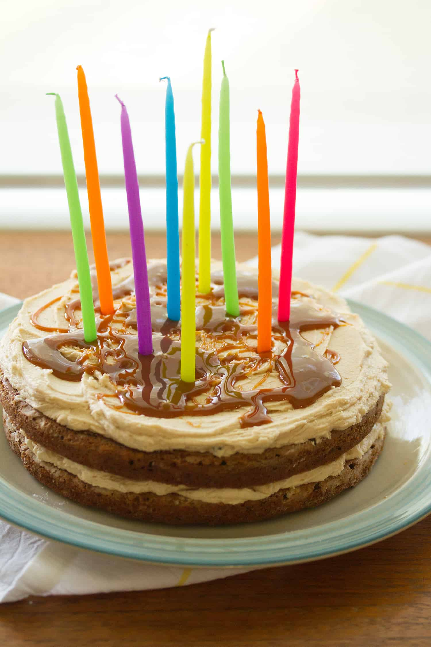 Ten Years: Chai Banana Cake with Brown Sugar Buttercream