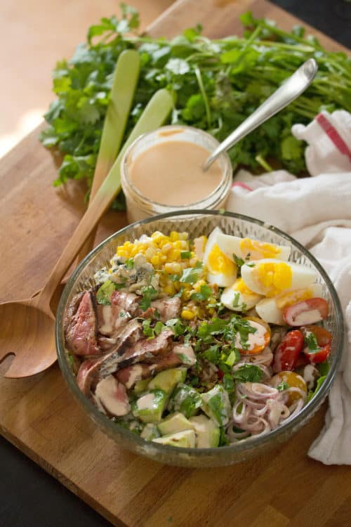 Southwestern Steak Cobb Salad