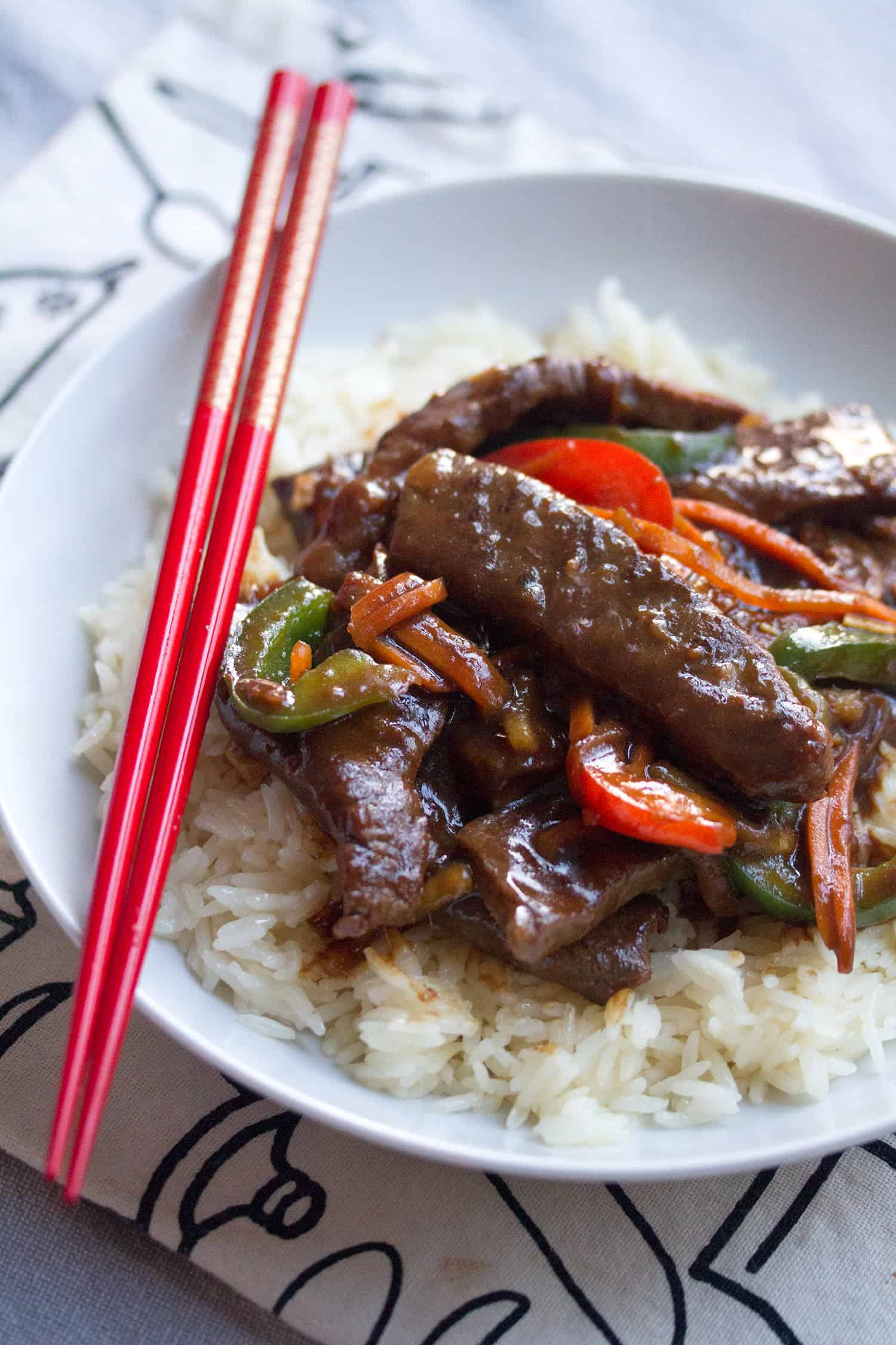 Takeout Fakeout: Healthier Ginger Beef Stir Fry