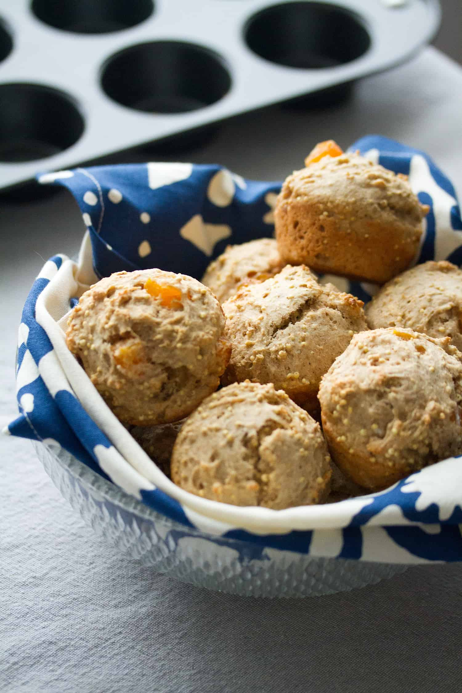 Spiced Apricot and Millet Muffins - Crumb: A Food Blog
