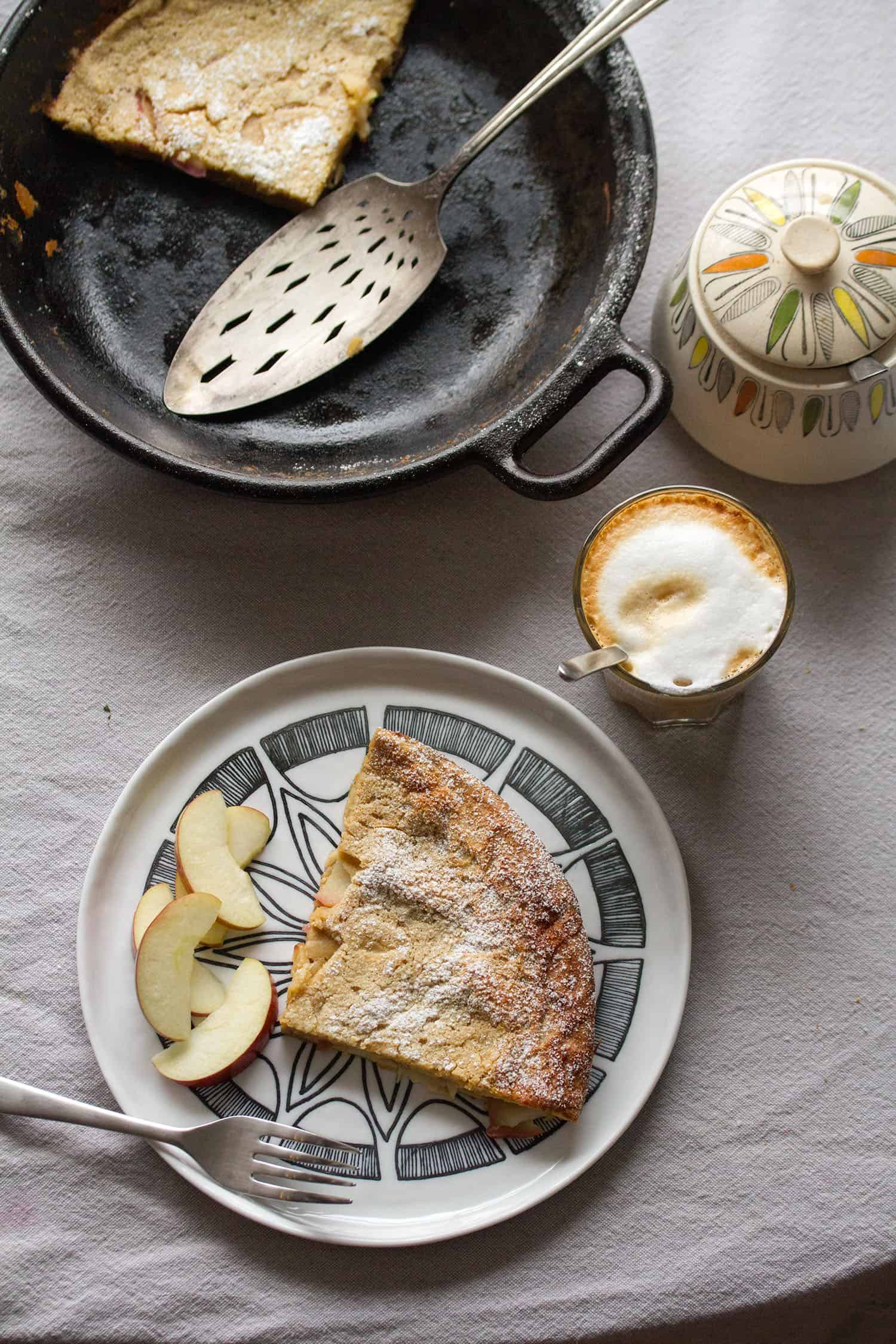 Going Dutch: Apple-Spice Buttermilk Dutch Baby