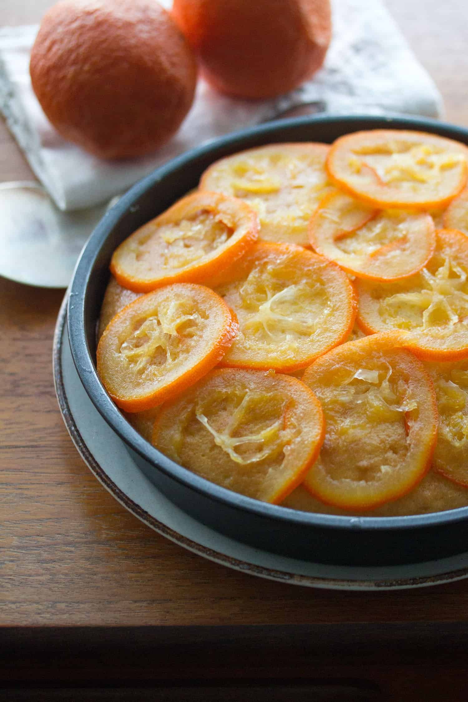 Sunny Days: Seville Orange Polenta Cake