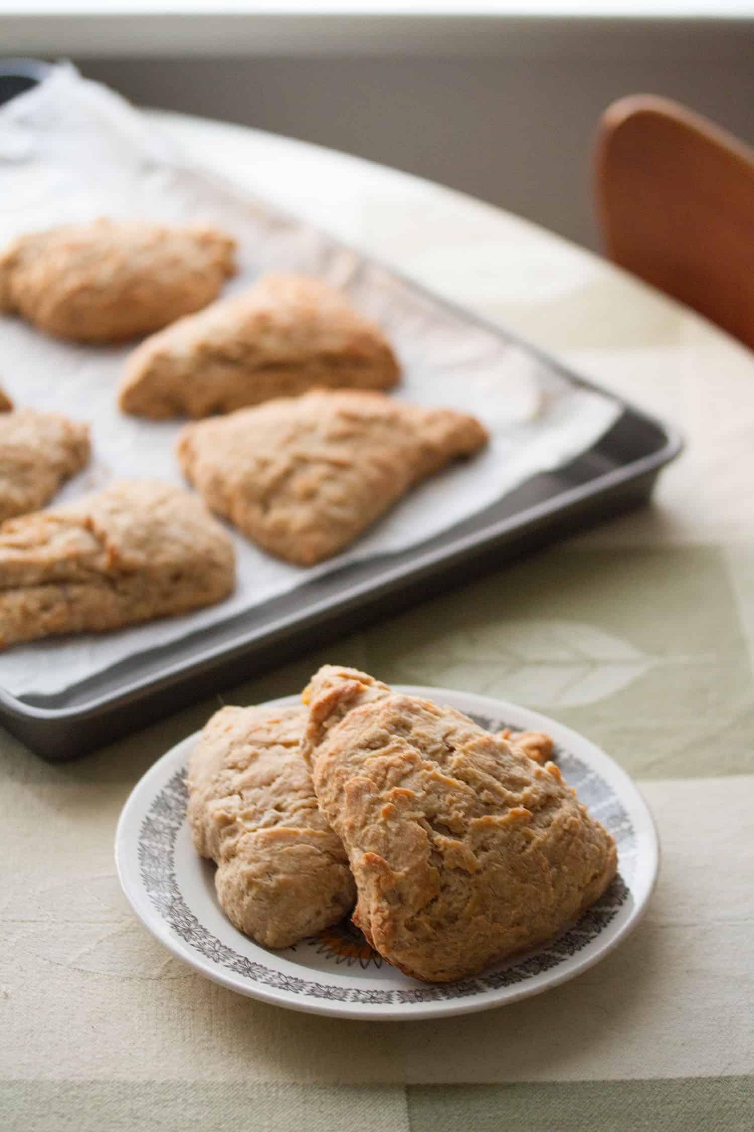 Banana Bread Scones - Crumb: A Food Blog