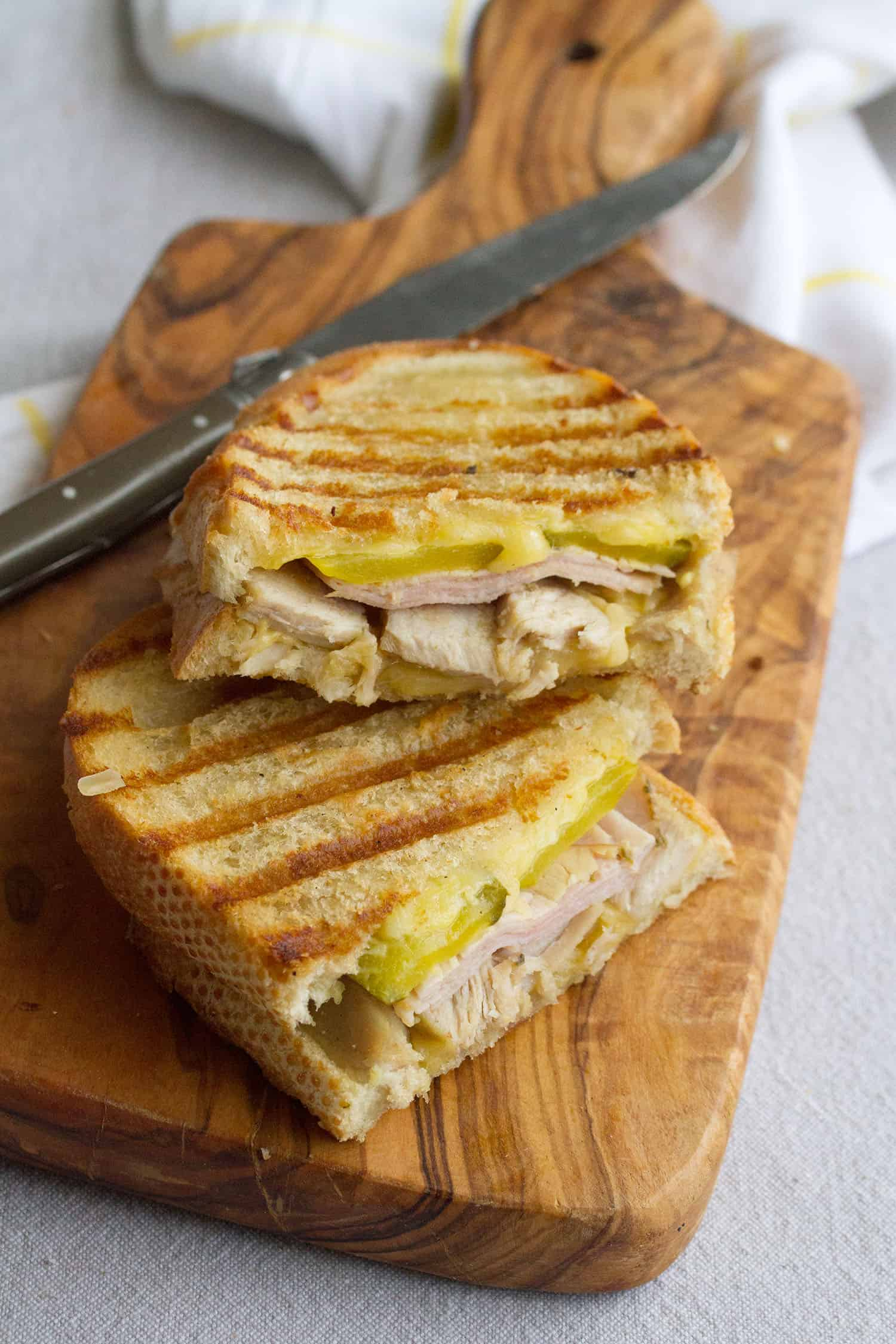 Melt With You: Cubano Grilled Cheese