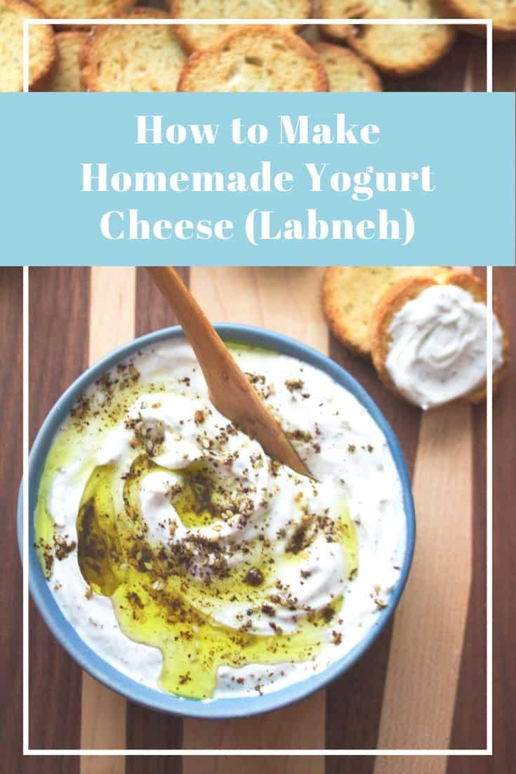 How to Make Homemade Labneh (Yogurt Cheese)