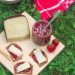Quick Strawberry Sangria Jam