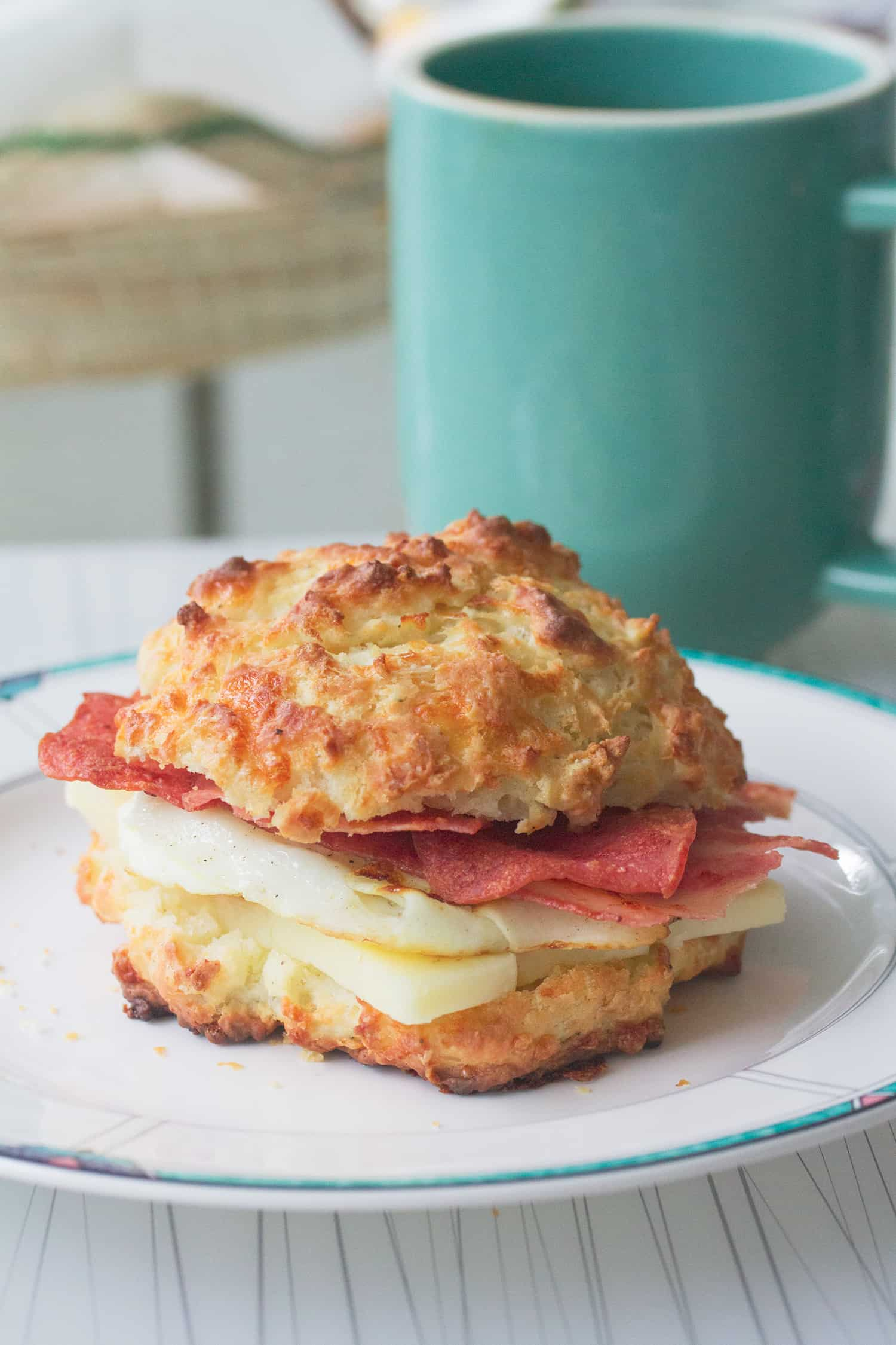Mad Cheddar: Cheddar Black Pepper Breakfast Biscuits