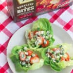 Lettuce Eat: Buffalo Chicken Lettuce Wraps with Janes ultimates Boneless Bites