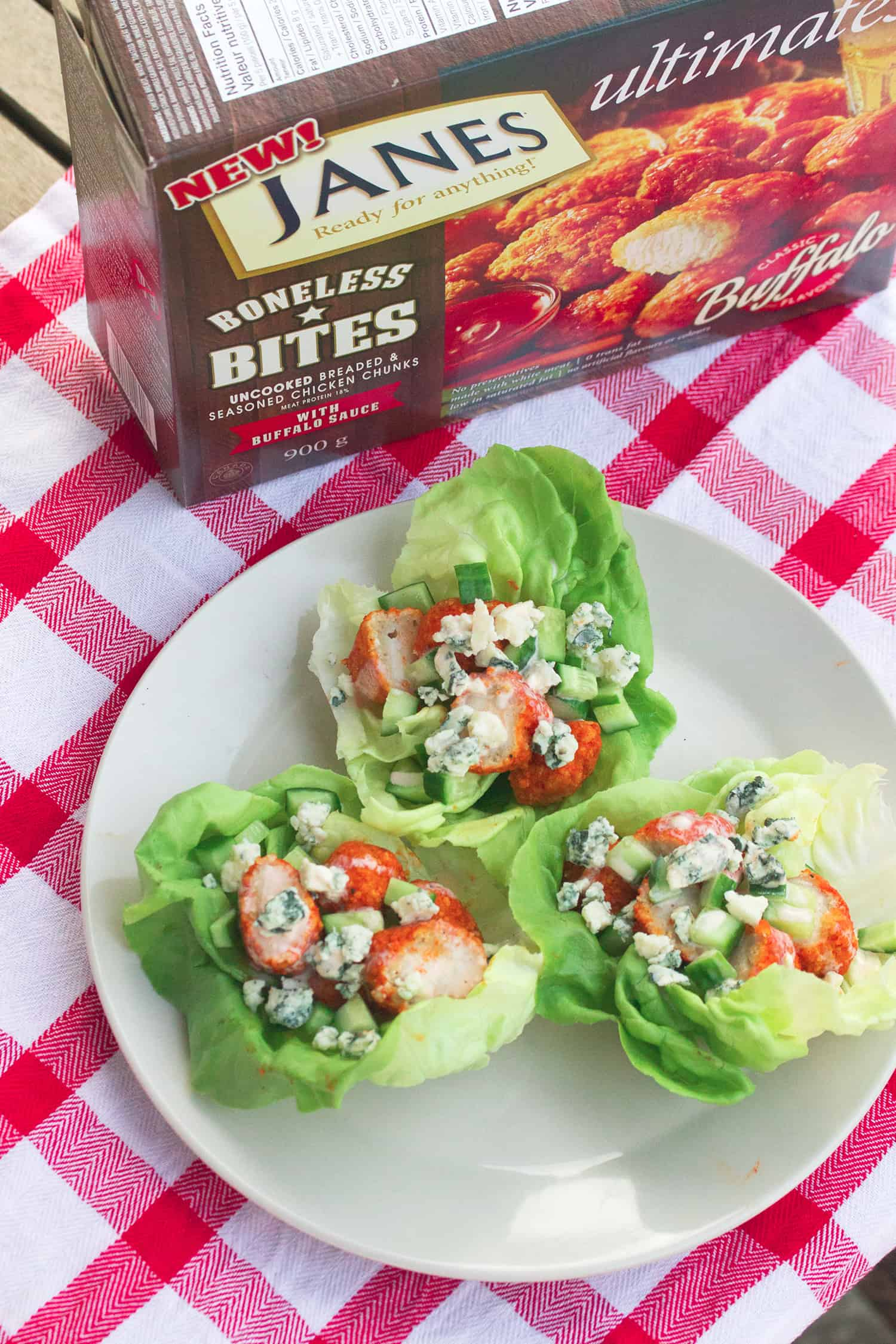 Buffalo Lettuce Wraps