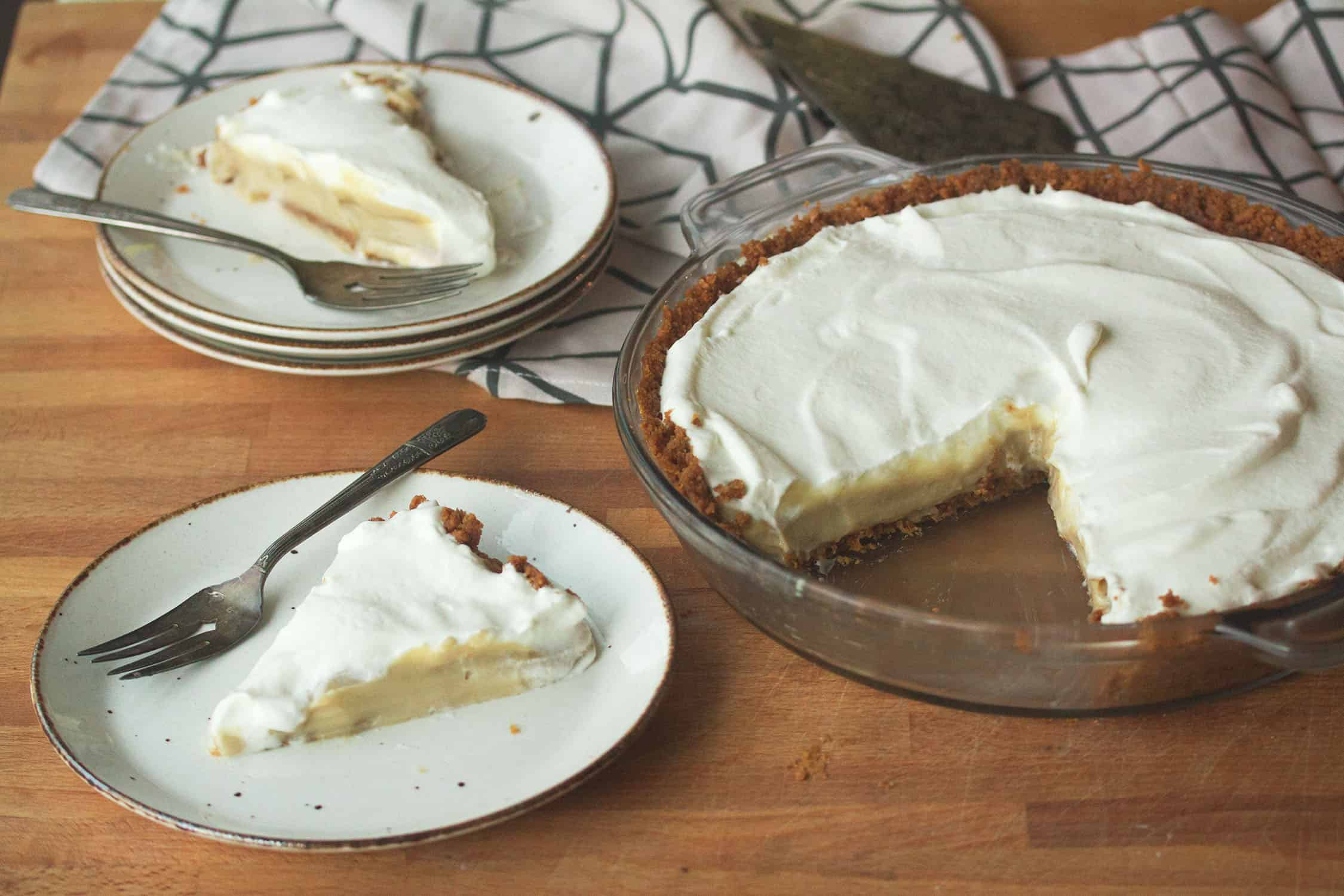 Butter Me Up: Butterscotch Cream Pie