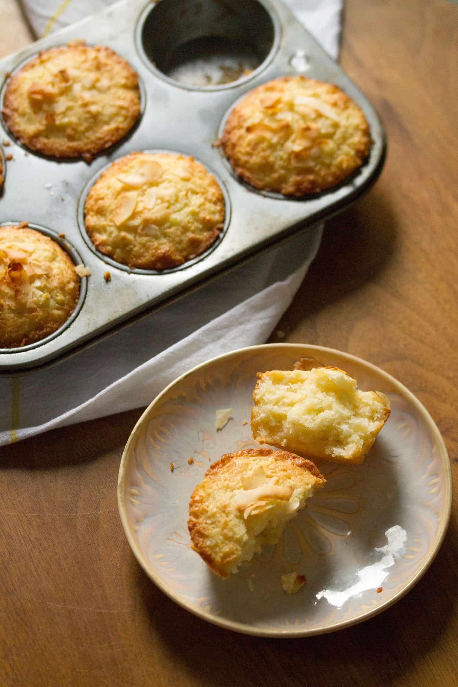 Coco Loco: Pina Colada Muffins