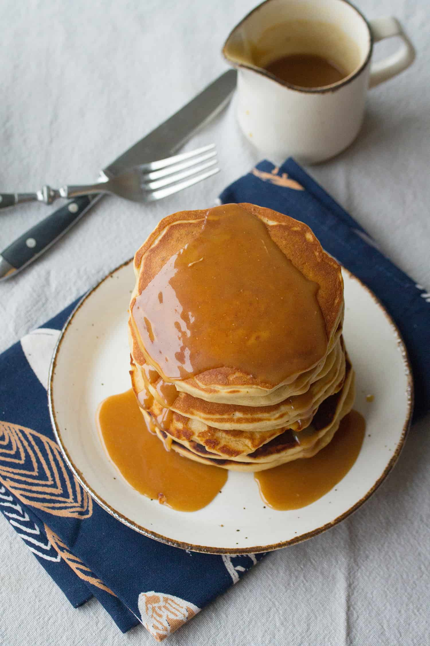 Nuts for You: Peanut Butter Lovers' Pancakes