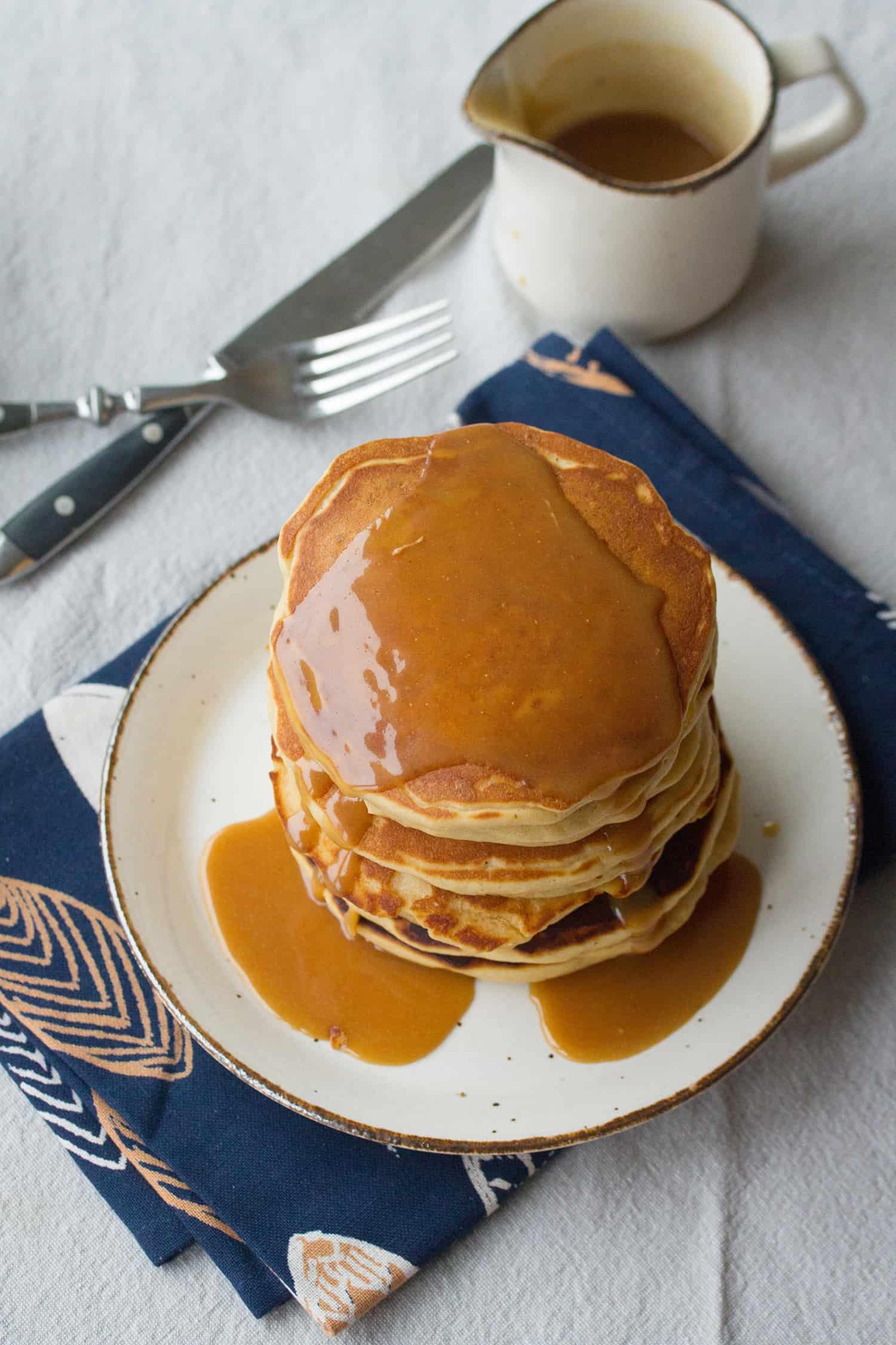 Peanut Butter Lovers' Pancakes