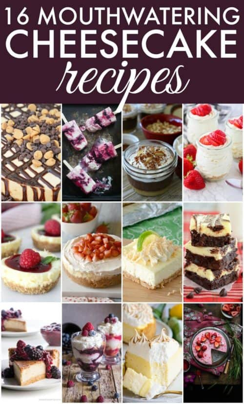 Cheesecake Recipe Collage