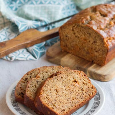 New Beginnings: Coffee-Toffee Banana Bread