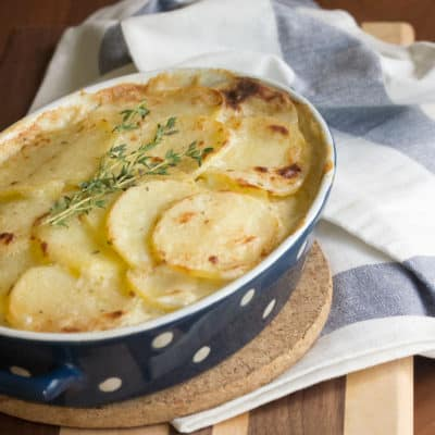 For Dad: Classic Scalloped Potatoes