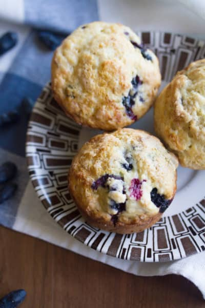 Haskap Berry Muffins