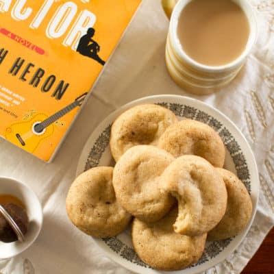 The Spice is Right: Chai Spice Snickerdoodles (Inspired by The Chai Factor)