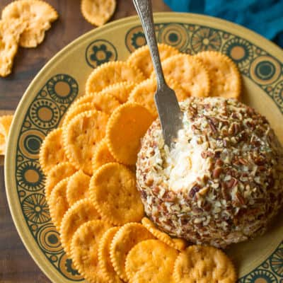 Old School: Pineapple-Pecan Cheese Ball