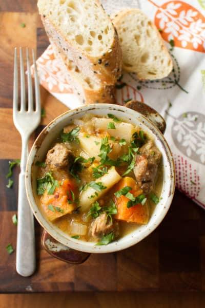 Instant Pot Pork and Cider Stew