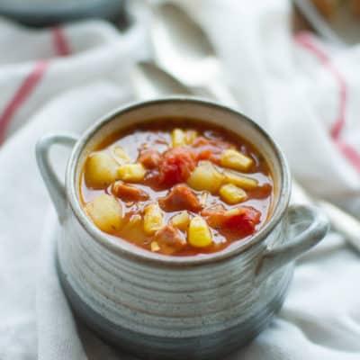 Souper Bowl: Smoky Tomato-Ham Chowder