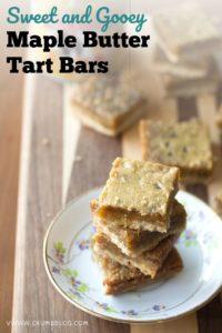 Maple Butter Tart Bars